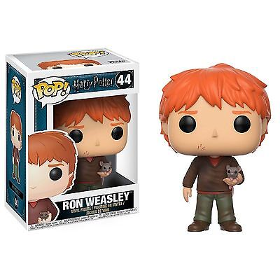 Funko Harry Potter POP Ron Weasley With Scabbers Vinyl Figure NEW Toys IN STOCK