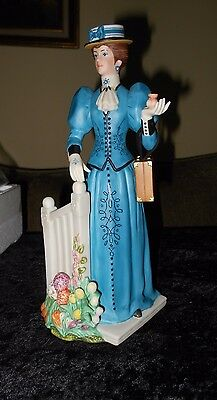 New Avon Mrs. Albee 2009 President's Club Collectible Full Size Porcelain Figure
