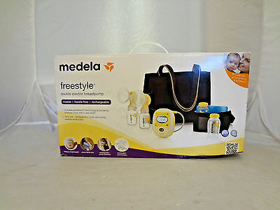 Medela Freestyle Double Electric Hands-Free Mobile Breastpump. NEW