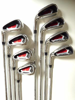 TaylorMade Burner S-Launch LH Irons (4-P+S) - V/Good Cond, Free Post # 657