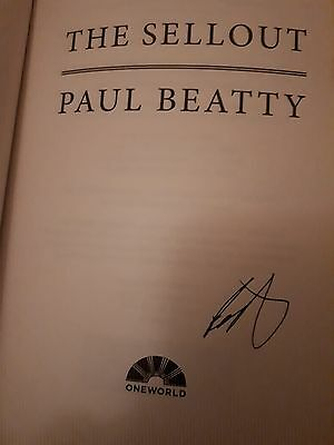 The Sellout by Paul Beatty (Signed paperback)