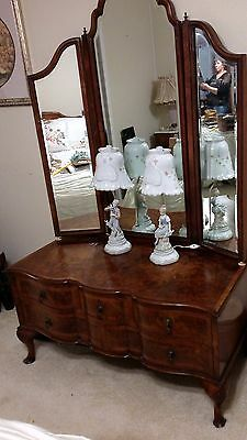 5pc antique country French  Bedroom Suite