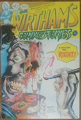 Dr. Wirtham's Comix & Stories #5 & #6, 1980