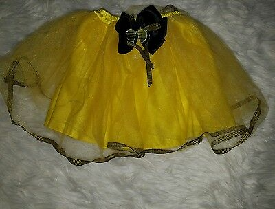 Tutu Skirt Just Pretend Bumble Bee Girl's PARTY/ COSTUME Yellow One Size