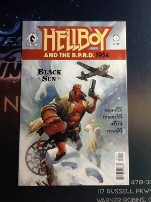 Hellboy And The BPRD 1954 The Unreasoning Beast #1 VF//NM CBL032
