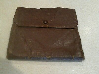 vintage  fly fishing  wallet