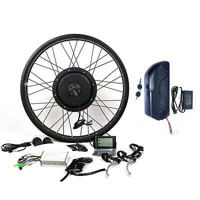 1500W motor + 48V18A Samsung 35E battery Electric Bicycle E bike Conversion kit