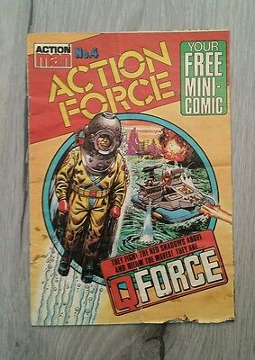 Action Man Action Force No.4 Mini Comic  1983