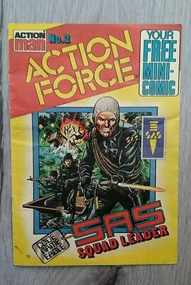 Action Man Action Force No.2  Mini Comic  1983
