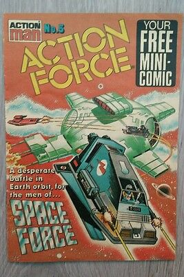 Action Man Action Force No.5 Mini Comic  1983