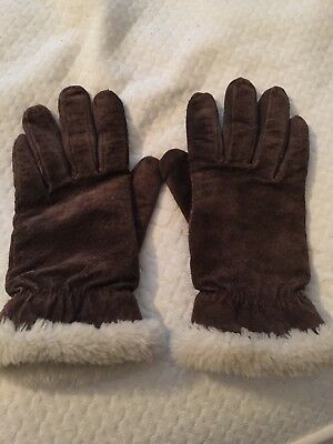 Women's Leather Gloves M