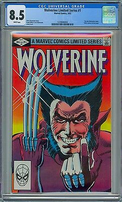 WOLVERINE #1 - CGC 8.5 - OW-WP VF+  - 1982 Limited Series