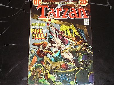 Tarzan #215 1972 The Mine Good Condition