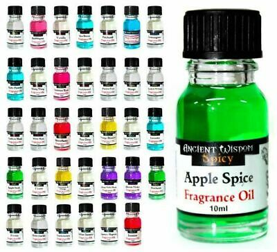 Fragrance Oils 10ml Ancient Wisdom - Oil Burners & Diffusers Home Scent 10ml