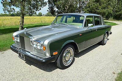 1979 Rolls-Royce Silver Shadow II Original, clean, fully serviced in rare, elegant 2-tone colour combination