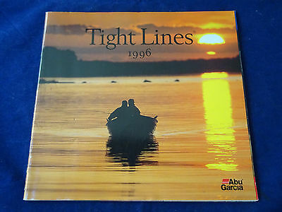 Vintage Abu Tight Lines Fishing Catalogue For 1996