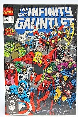 The Infinity Gauntlet #3 Marvel 1991 Thanos Avengers NM