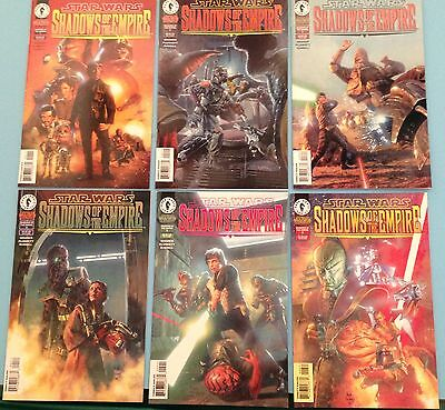 Comics Star Wars Shadows of the Empire Complete Set 1 to 6