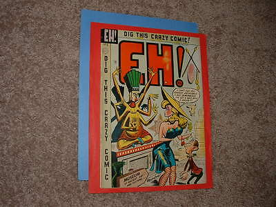 1954 Charlton EH! 6 Ottenheimer Headlights cover Solid Very Good Free Shipping