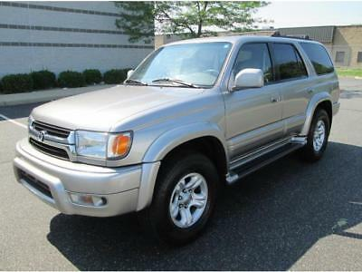 2002 Toyota 4Runner Limited 2002 Toyota 4Runner Limited 4X4 Loaded Serviced Rare Find Great Truck Must See