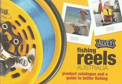 ALVEY FISHING REELS PRODUCT CATALOGUE & Guide to Better Fishing