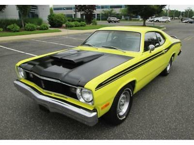 1975 Plymouth Duster  1975 Plymouth Duster V8 3 Speed Yellow 1 Owner Restored & Upgraded Amazing Car