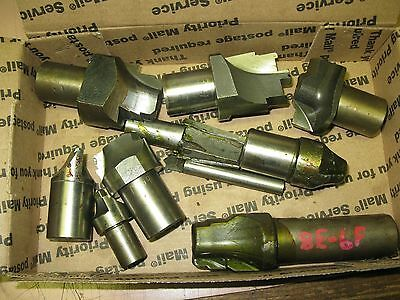 Lot Of Assorted lathe /Milling/Machining Cutters