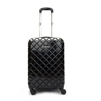 "20"" Luggage Suitcase Trolley Set Travel Carry On Bag Hard Case"