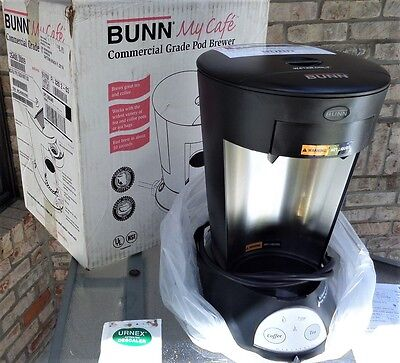 Bunn 35400.0009 Mca My Cafe Automatic Single Serving Commercial Pod Brewer