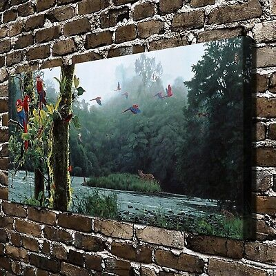 Rainforest Rendezvous HD Canvas Print Home Decor Pictures Room Wall Art Painting