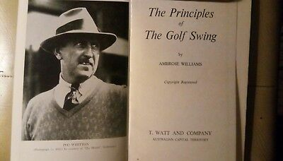 Golf book Great Rarity Great tips for Golfers a must read.