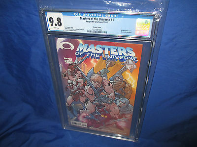 Masters of the Universe 1 CGC 9.8 2002 Image J Scott Campbell Invincible Preview