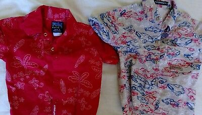2 x boy shirt summer size 0