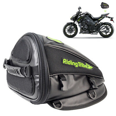 Motorcross Tank Bag Tail Saddle Bags Pack Back Seat For Helmet Luggage Storage
