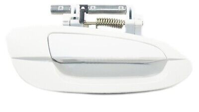 Rear Right Outside Door Handle For 02-06 Nissan Altima QX3 Satin White