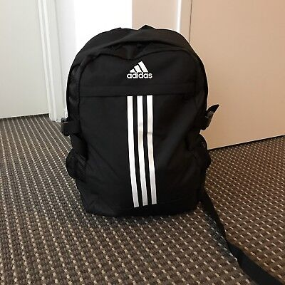 Adidas Brand New With Tag Black Backpack RRP$75