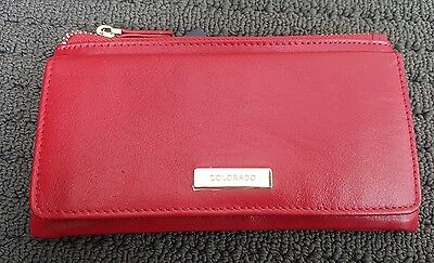 COLORADO women's ladies leather wallet purse RFID PROTECTED