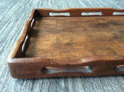 Chinese vintage Huang Huali tray from early 1900