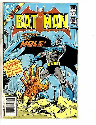 Batman # 340 VF/NM DOUBLE COVER RARE Error Variant DC Comic Book Joker J256