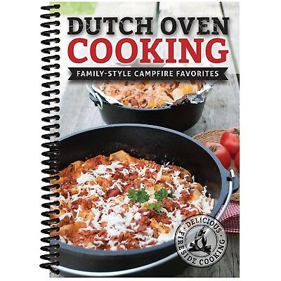 CQ Products Paper Dutch Oven Cooking (Family Style Campfire Favorites)