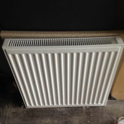 wall radiator white used wrong size installed