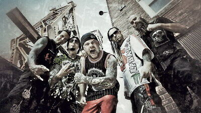 "010 FIVE FINGER DEATH PUNCH - Ivan Moody Metal Rock Band 42""x24"" Poster"