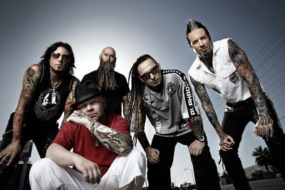 "025 FIVE FINGER DEATH PUNCH - Ivan Moody Metal Rock Band 36""x24"" Poster"