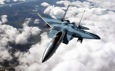 """012 F-15 - American Eagle Fighter 38""""x24"""" Poster"""