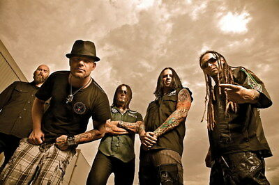 "021 FIVE FINGER DEATH PUNCH - Ivan Moody Metal Rock Band 36""x24"" Poster"