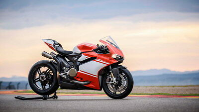 """039 Ducati - Monster Multistrada Panigale Super Motorcycle 42""""x24"""" Poster"""