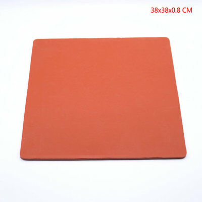 "Silicone Sponge Rubber Sheet Plate Pad 15""x15"" High Temp Heat Press"