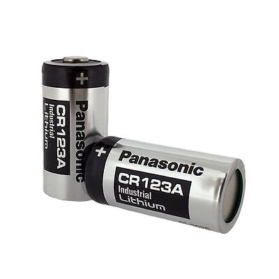Panasonic 3V CR123A 1400mAh Lithium Battery Batteries CR17345 CR DL EL 123 A AS