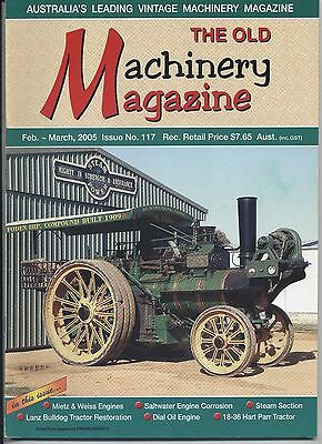 The Old Machinery Magazine TOMM  issue 117 February-March 2005
