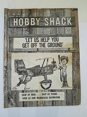 Hobby Shack Catalog RC Model Store Buena Park 1970s